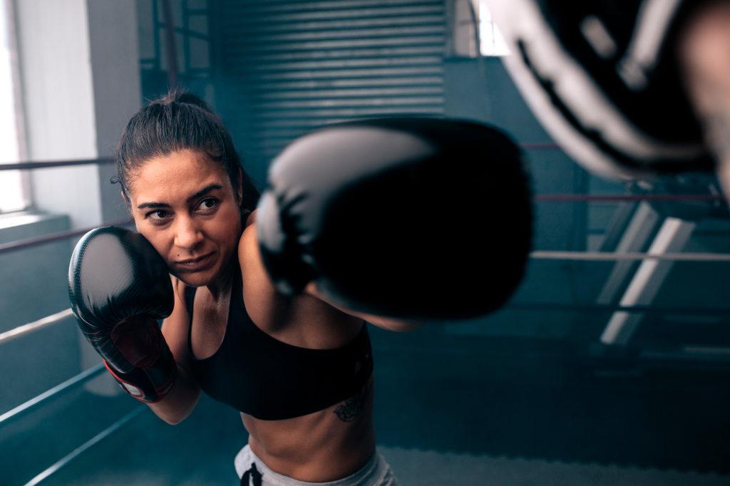 Boxeo y miopía